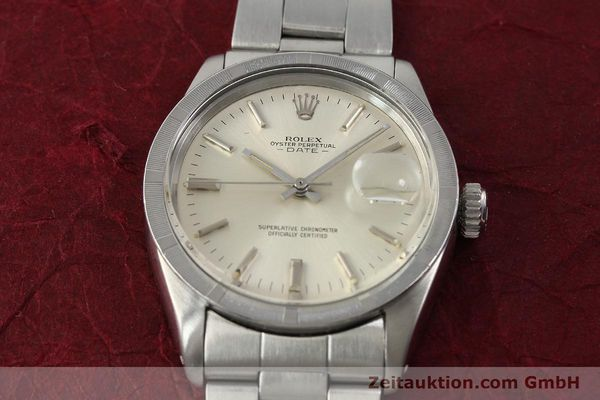 Used luxury watch Rolex Date steel automatic Kal. 1570 Ref. 1501  | 142840 16