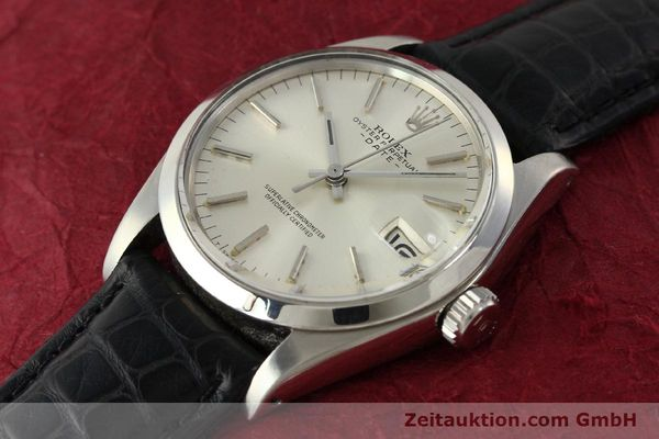 Used luxury watch Rolex Date steel automatic Kal. 1570 Ref. 1500  | 142843 01