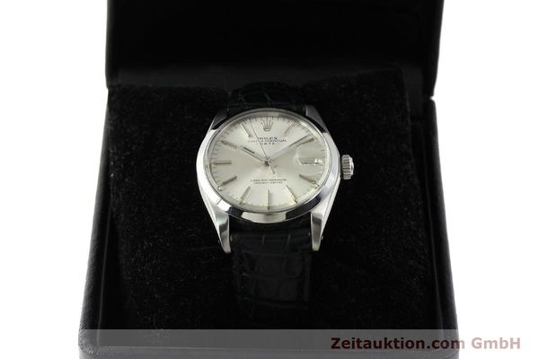 Used luxury watch Rolex Date steel automatic Kal. 1570 Ref. 1500  | 142843 07