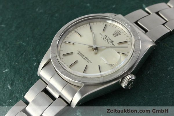 Used luxury watch Rolex Date steel automatic Kal. 1570 Ref. 1501  | 142845 01