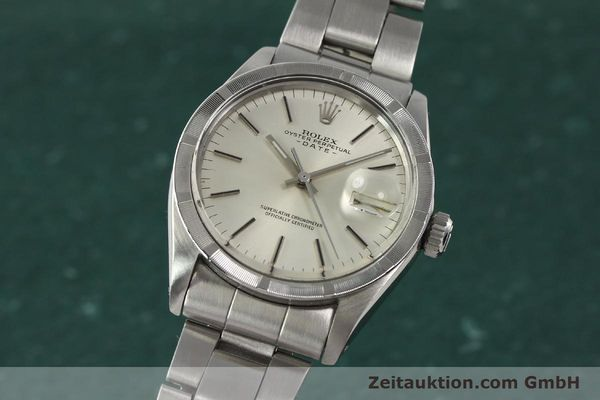 Used luxury watch Rolex Date steel automatic Kal. 1570 Ref. 1501  | 142845 04