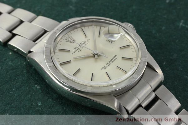 Used luxury watch Rolex Date steel automatic Kal. 1570 Ref. 1501  | 142845 15