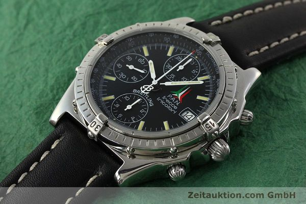 Used luxury watch Breitling Chronomat chronograph steel automatic Kal. B13 ETA 7750 Ref. A13050.1 LIMITED EDITION | 142847 01