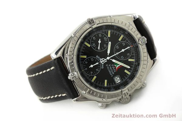 Used luxury watch Breitling Chronomat chronograph steel automatic Kal. B13 ETA 7750 Ref. A13050.1 LIMITED EDITION | 142847 03