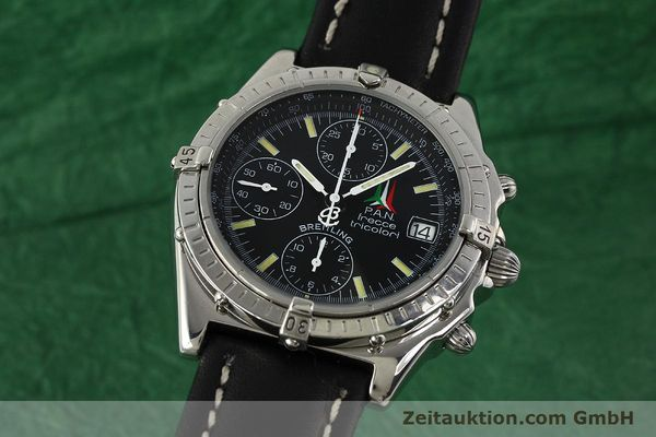 Used luxury watch Breitling Chronomat chronograph steel automatic Kal. B13 ETA 7750 Ref. A13050.1 LIMITED EDITION | 142847 04