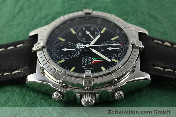 Used luxury watch Breitling Chronomat chronograph steel automatic Kal. B13 ETA 7750 Ref. A13050.1 LIMITED EDITION | 142847 05