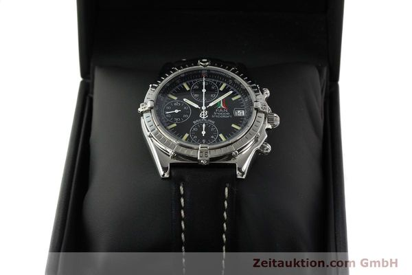 Used luxury watch Breitling Chronomat chronograph steel automatic Kal. B13 ETA 7750 Ref. A13050.1 LIMITED EDITION | 142847 07