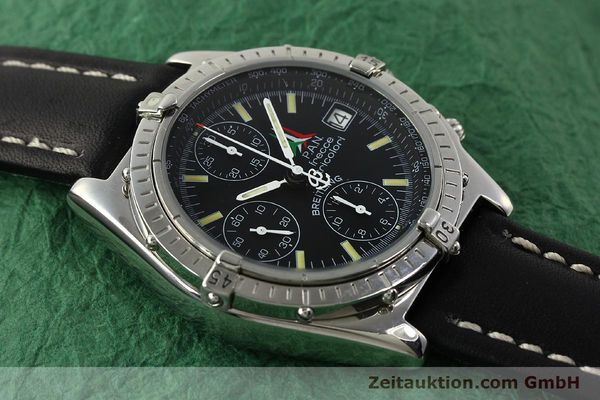 Used luxury watch Breitling Chronomat chronograph steel automatic Kal. B13 ETA 7750 Ref. A13050.1 LIMITED EDITION | 142847 14