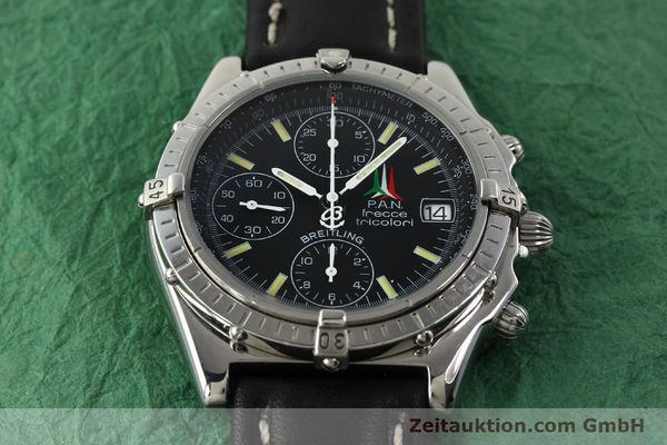 Used luxury watch Breitling Chronomat chronograph steel automatic Kal. B13 ETA 7750 Ref. A13050.1 LIMITED EDITION | 142847 15