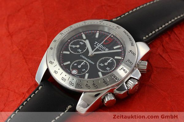 Used luxury watch Tudor Sport Chronograph chronograph steel automatic Kal. ETA 7753 Ref. 20300  | 142849 01