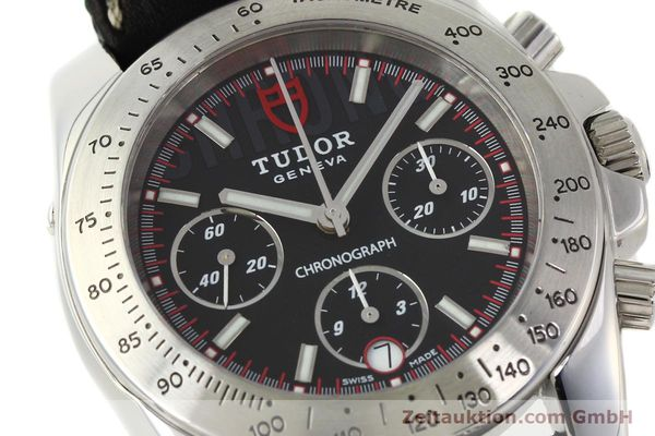 Used luxury watch Tudor Sport Chronograph chronograph steel automatic Kal. ETA 7753 Ref. 20300  | 142849 02