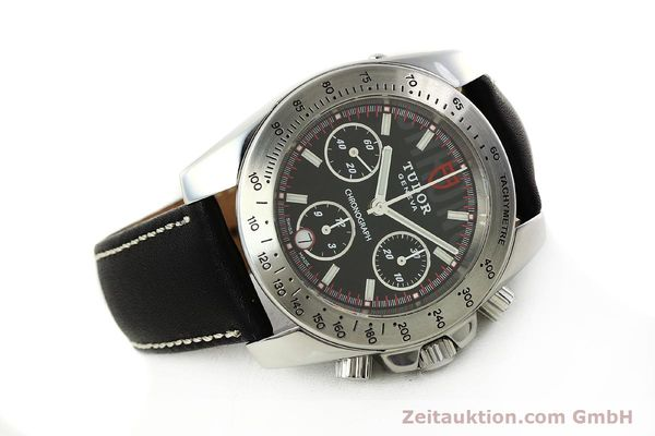 Used luxury watch Tudor Sport Chronograph chronograph steel automatic Kal. ETA 7753 Ref. 20300  | 142849 03