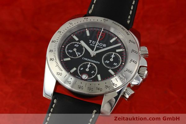 Used luxury watch Tudor Sport Chronograph chronograph steel automatic Kal. ETA 7753 Ref. 20300  | 142849 04