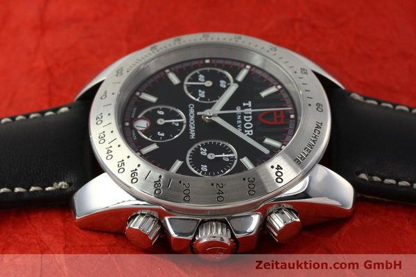 Used luxury watch Tudor Sport Chronograph chronograph steel automatic Kal. ETA 7753 Ref. 20300  | 142849 05