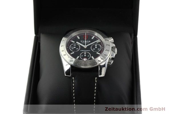 Used luxury watch Tudor Sport Chronograph chronograph steel automatic Kal. ETA 7753 Ref. 20300  | 142849 07
