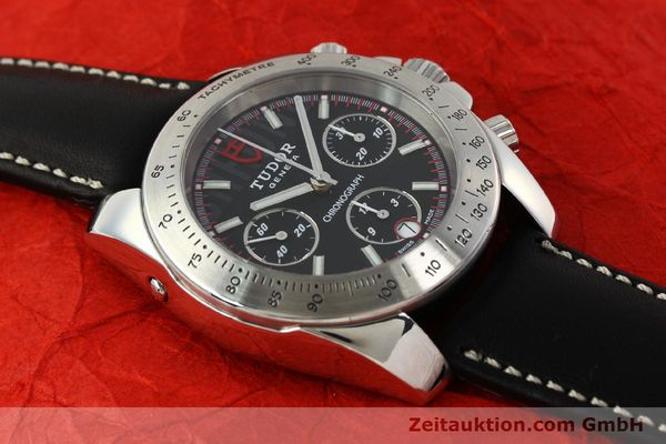 Used luxury watch Tudor Sport Chronograph chronograph steel automatic Kal. ETA 7753 Ref. 20300  | 142849 14
