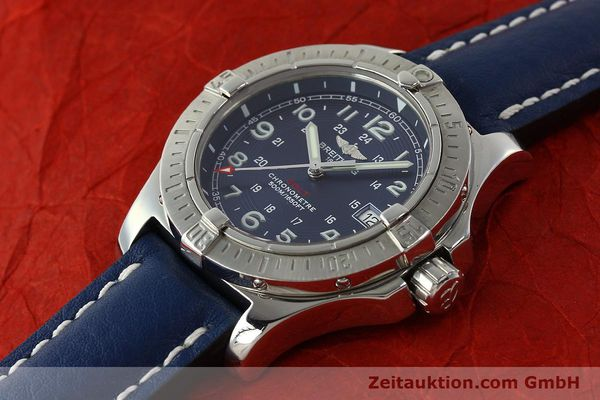 Used luxury watch Breitling Colt steel quartz Kal. B74 ETA 955652 Ref. A74380  | 142851 01