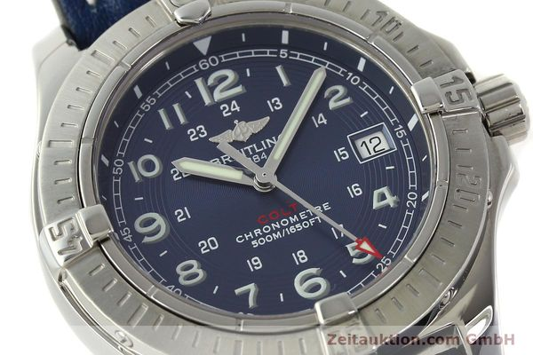 Used luxury watch Breitling Colt steel quartz Kal. B74 ETA 955652 Ref. A74380  | 142851 02