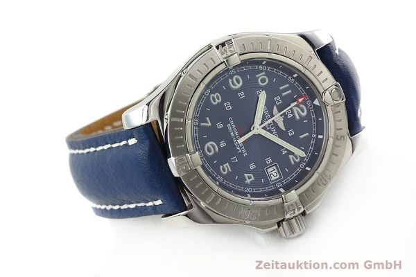 Used luxury watch Breitling Colt steel quartz Kal. B74 ETA 955652 Ref. A74380  | 142851 03