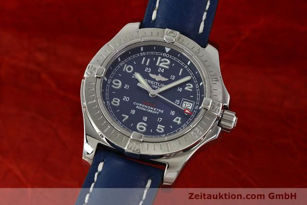 Used luxury watch Breitling Colt steel quartz Kal. B74 ETA 955652 Ref. A74380  | 142851 04