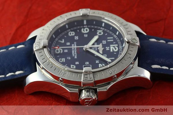 Used luxury watch Breitling Colt steel quartz Kal. B74 ETA 955652 Ref. A74380  | 142851 05