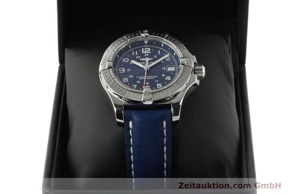 Used luxury watch Breitling Colt steel quartz Kal. B74 ETA 955652 Ref. A74380  | 142851 07