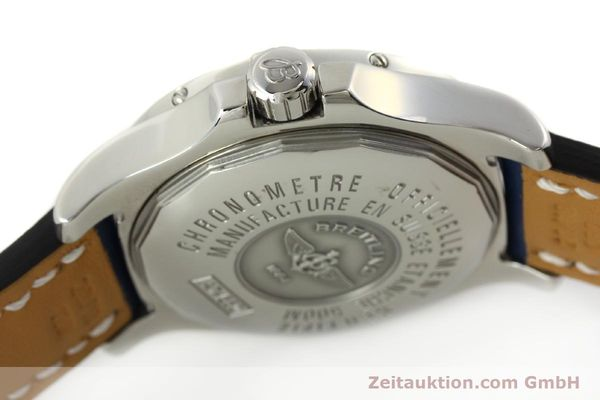Used luxury watch Breitling Colt steel quartz Kal. B74 ETA 955652 Ref. A74380  | 142851 08