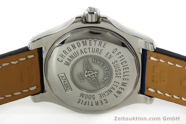 Used luxury watch Breitling Colt steel quartz Kal. B74 ETA 955652 Ref. A74380  | 142851 09