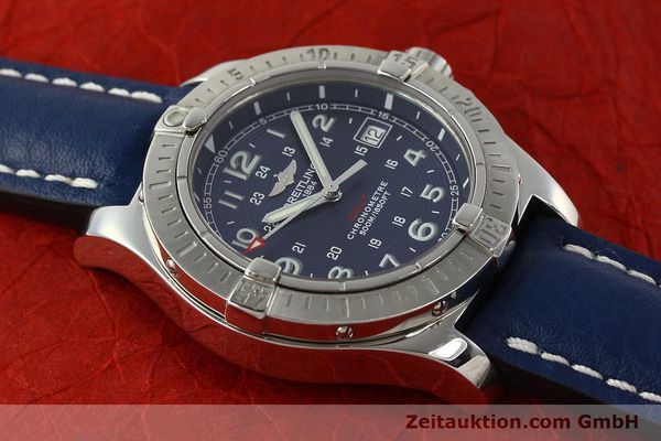 Used luxury watch Breitling Colt steel quartz Kal. B74 ETA 955652 Ref. A74380  | 142851 13