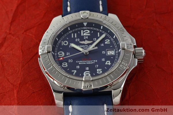 Used luxury watch Breitling Colt steel quartz Kal. B74 ETA 955652 Ref. A74380  | 142851 14