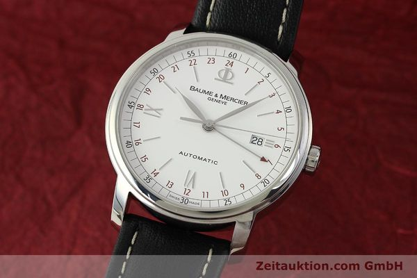 Used luxury watch Baume & Mercier Classima steel automatic Kal. BM1893-2 ETA 2893-2 Ref. 65494  | 142854 04