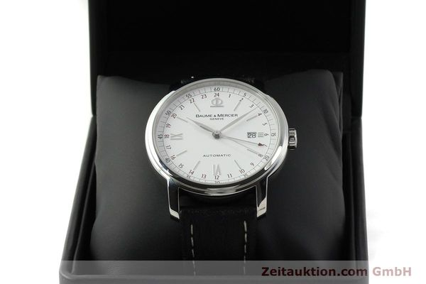 Used luxury watch Baume & Mercier Classima steel automatic Kal. BM1893-2 ETA 2893-2 Ref. 65494  | 142854 07