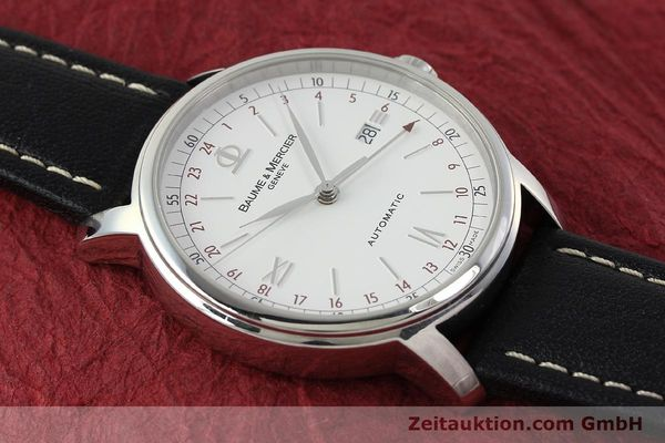 Used luxury watch Baume & Mercier Classima steel automatic Kal. BM1893-2 ETA 2893-2 Ref. 65494  | 142854 12