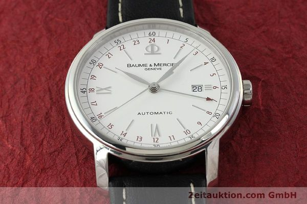 Used luxury watch Baume & Mercier Classima steel automatic Kal. BM1893-2 ETA 2893-2 Ref. 65494  | 142854 13