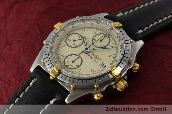 Used luxury watch Breitling Chronomat chronograph steel / gold automatic Kal. VAL 7750 Ref. 81950  | 142856 01