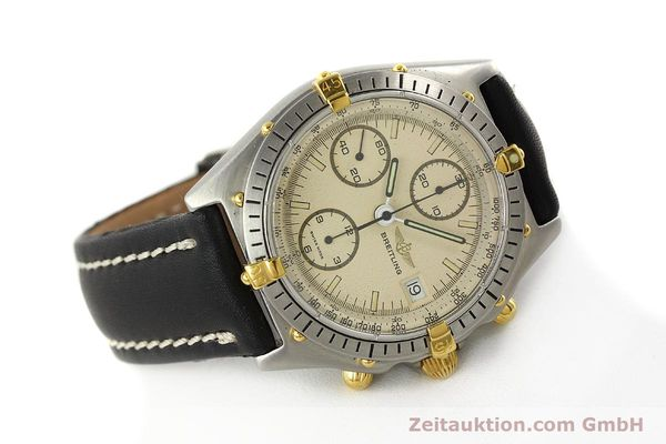 Used luxury watch Breitling Chronomat chronograph steel / gold automatic Kal. VAL 7750 Ref. 81950  | 142856 03