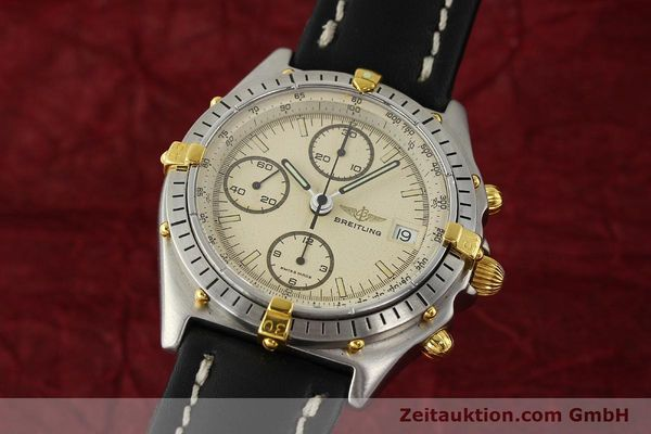Used luxury watch Breitling Chronomat chronograph steel / gold automatic Kal. VAL 7750 Ref. 81950  | 142856 04