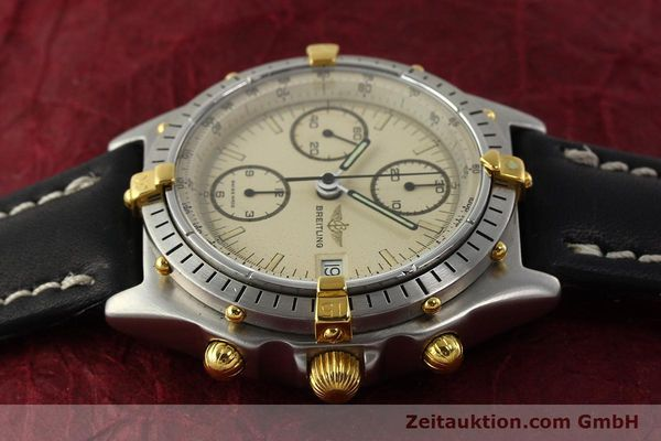 Used luxury watch Breitling Chronomat chronograph steel / gold automatic Kal. VAL 7750 Ref. 81950  | 142856 05