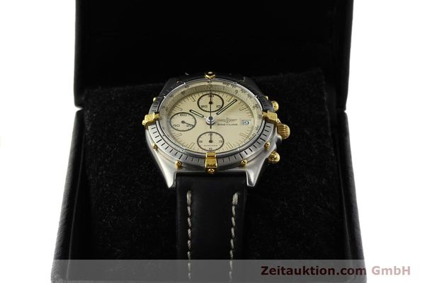 Used luxury watch Breitling Chronomat chronograph steel / gold automatic Kal. VAL 7750 Ref. 81950  | 142856 07
