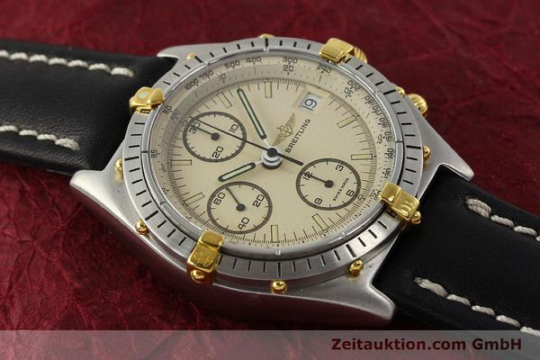Used luxury watch Breitling Chronomat chronograph steel / gold automatic Kal. VAL 7750 Ref. 81950  | 142856 12