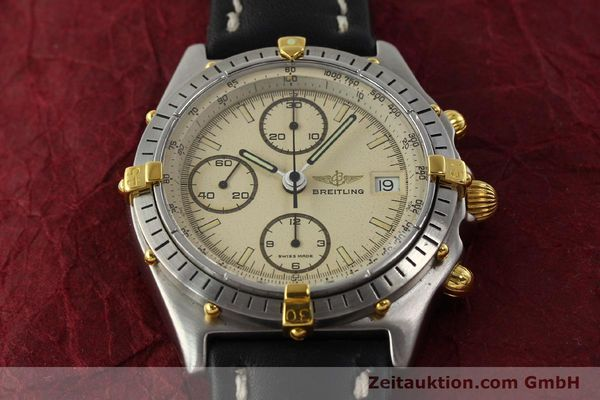 Used luxury watch Breitling Chronomat chronograph steel / gold automatic Kal. VAL 7750 Ref. 81950  | 142856 13