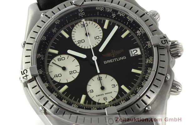Used luxury watch Breitling Chronomat chronograph steel automatic Kal. Valj. 7750 Ref. 81950  | 142857 02
