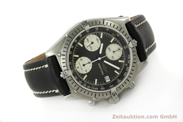 Used luxury watch Breitling Chronomat chronograph steel automatic Kal. Valj. 7750 Ref. 81950  | 142857 03