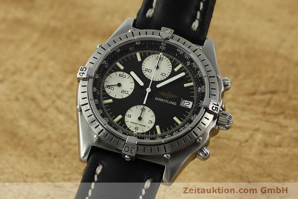 Used luxury watch Breitling Chronomat chronograph steel automatic Kal. Valj. 7750 Ref. 81950  | 142857 04