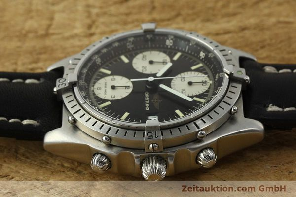 Used luxury watch Breitling Chronomat chronograph steel automatic Kal. Valj. 7750 Ref. 81950  | 142857 05
