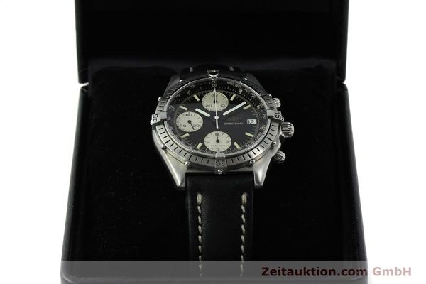 Used luxury watch Breitling Chronomat chronograph steel automatic Kal. Valj. 7750 Ref. 81950  | 142857 07