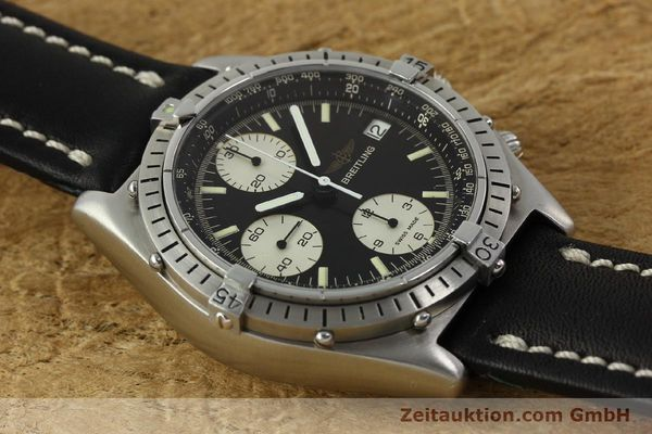 Used luxury watch Breitling Chronomat chronograph steel automatic Kal. Valj. 7750 Ref. 81950  | 142857 12