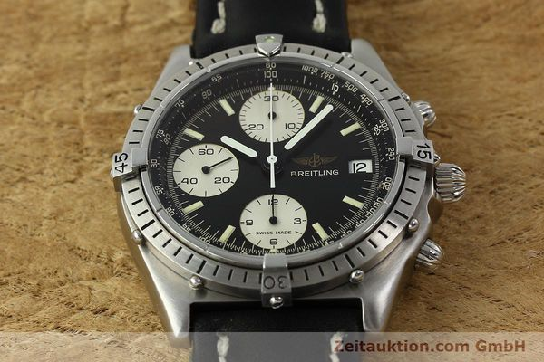 Used luxury watch Breitling Chronomat chronograph steel automatic Kal. Valj. 7750 Ref. 81950  | 142857 13
