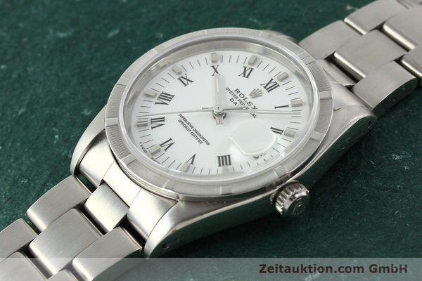 Used luxury watch Rolex Date steel automatic Kal. 3135 Ref. 15210  | 142858 01