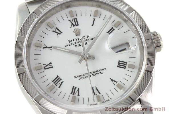 Used luxury watch Rolex Date steel automatic Kal. 3135 Ref. 15210  | 142858 02